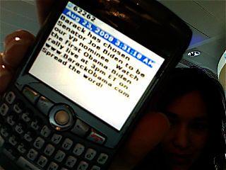 Obama Biden SMS
