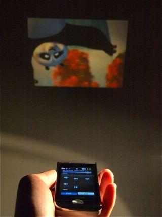 Samsung Projector Phone