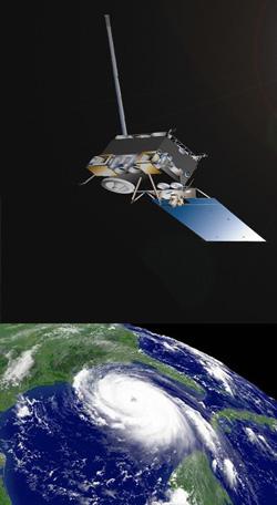 Hurricaneandsatellite