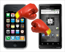 Droid versus iPhone
