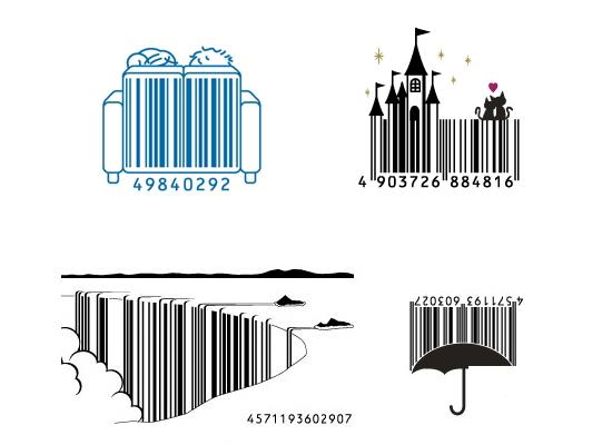 Creative japanese barcodes