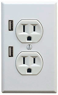 USB home outlet