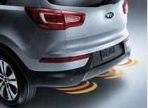 Kia backup warning