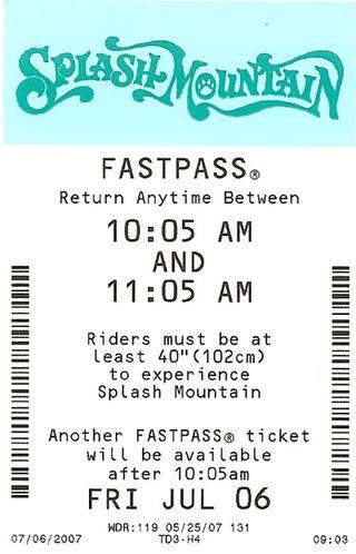 DDisney fastpass