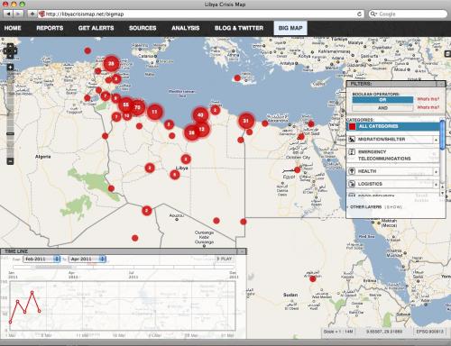 Ushahidi Libya