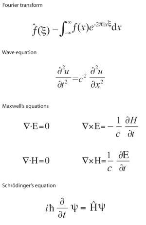 Seven equations