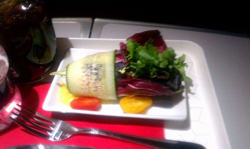 Virgin flight Salad