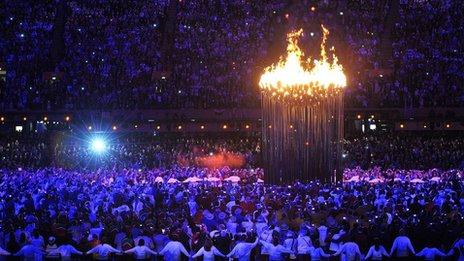 Olympic Cauldron Final