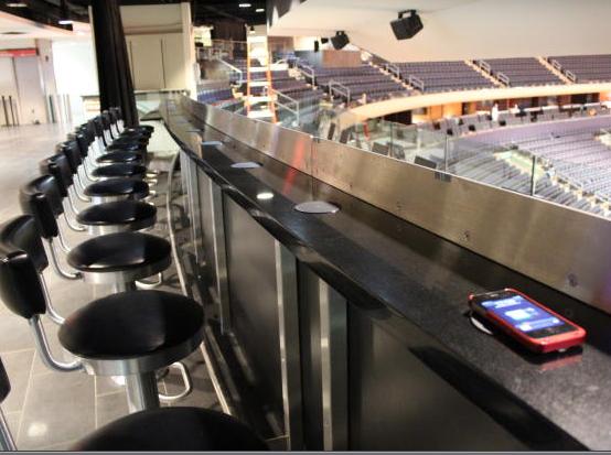 Knicks wireless charging
