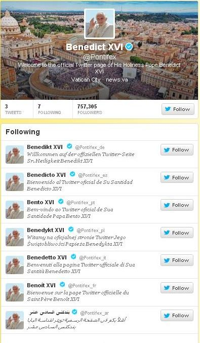 Benedict XVI
