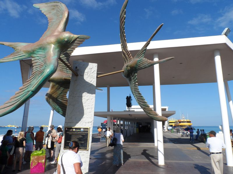 Cozumel ferry center