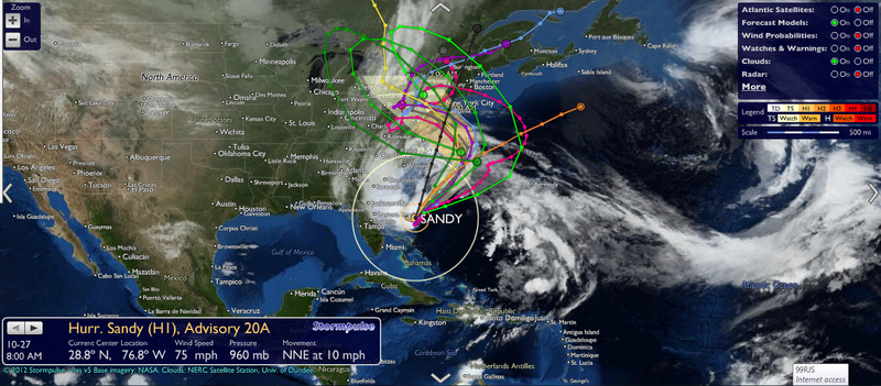 Stormpulse Sandy