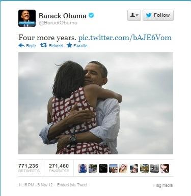 Obama Viictory Tweet