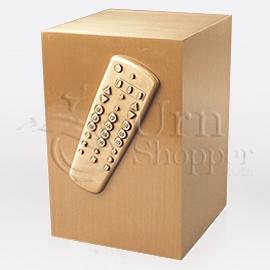 TV remote urn