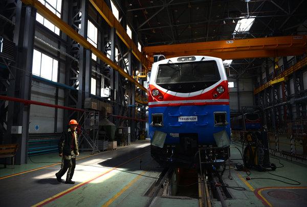 Kazakh Rail