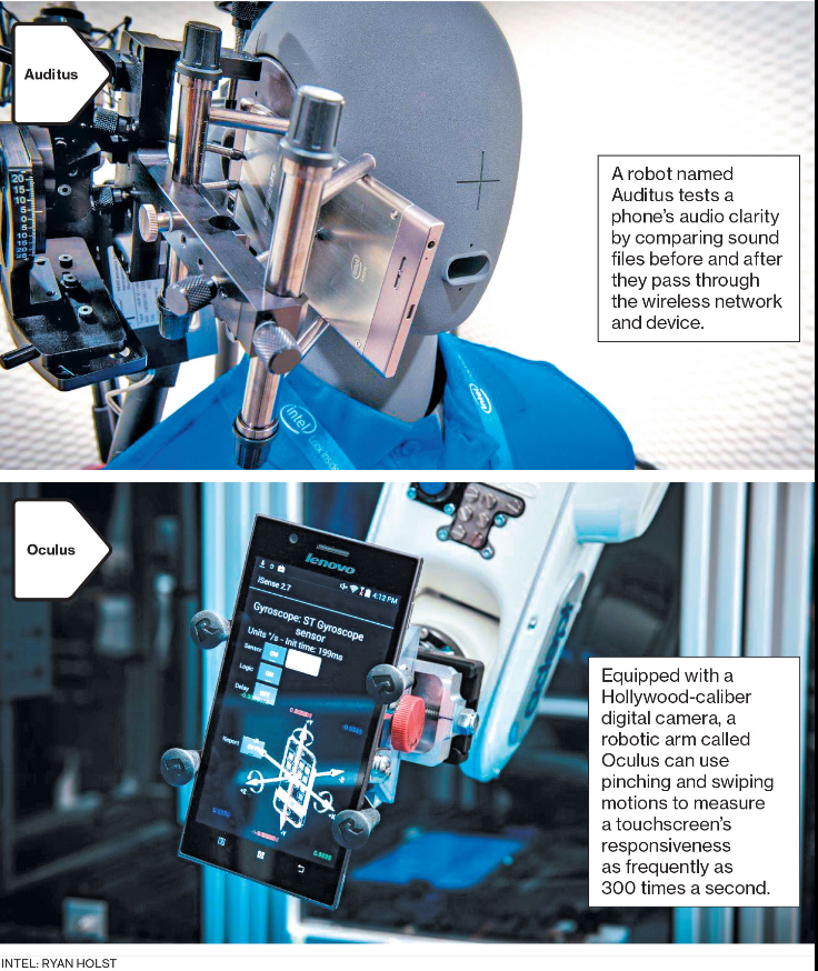 Robotic Testers