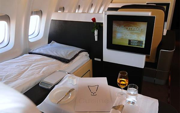 Lufthansa first