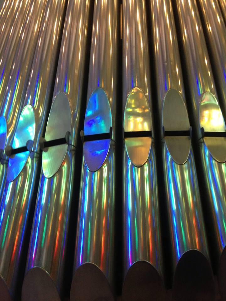 Barcelona Famillia Organ Pipes