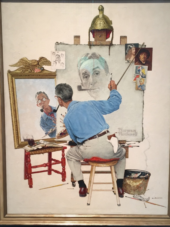 Rockwell - self portrait