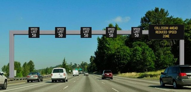Smart road signs