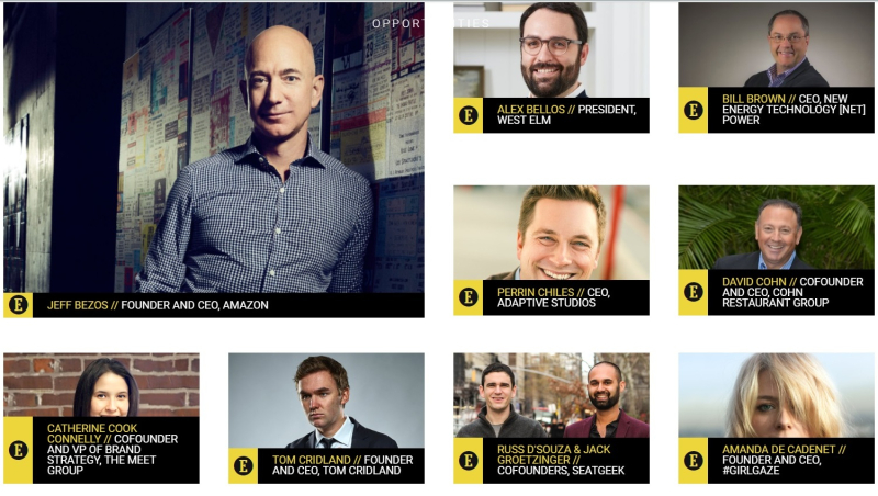 Entrepreneur 50 Most Daring