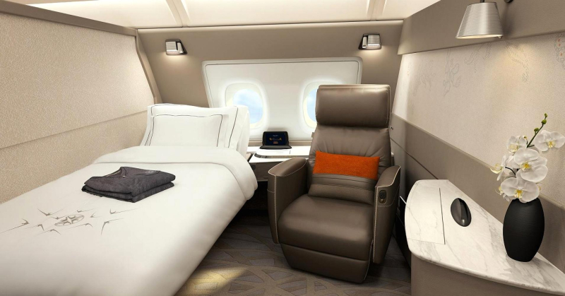Singapore Air a380 skyroom