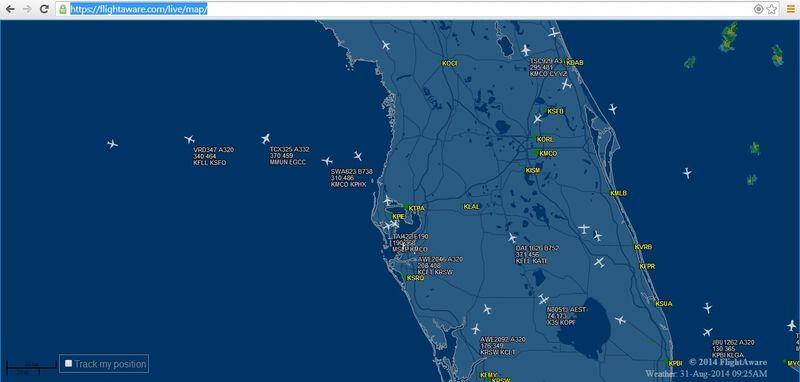 Flightaware live