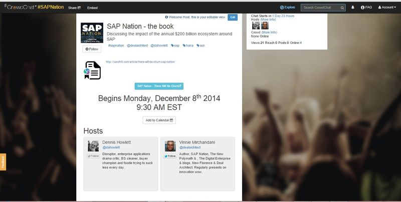 Crowdchat SAP Nation