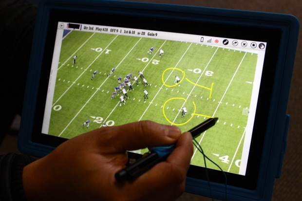 NFL Surface tablets