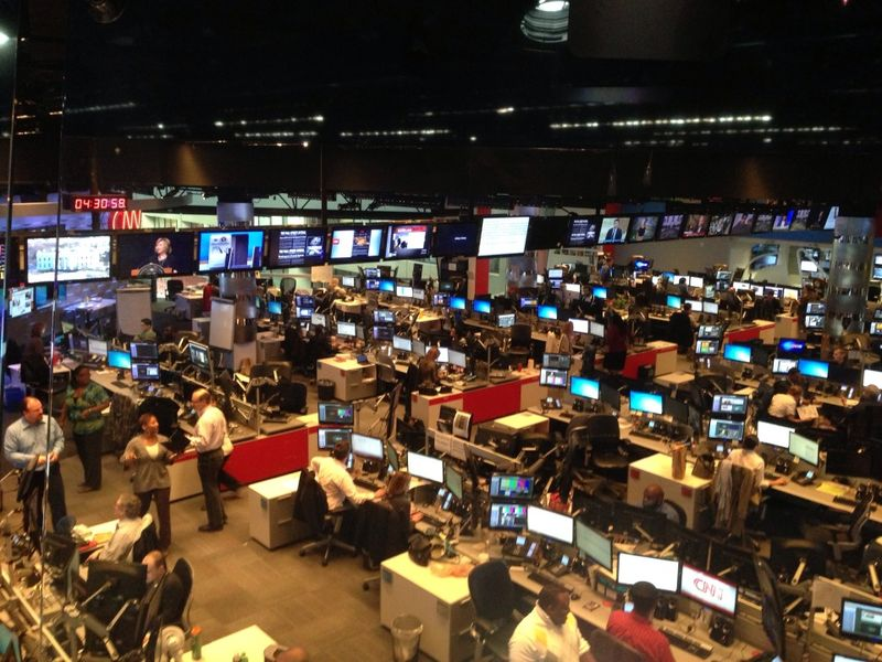 CNN News Room 1