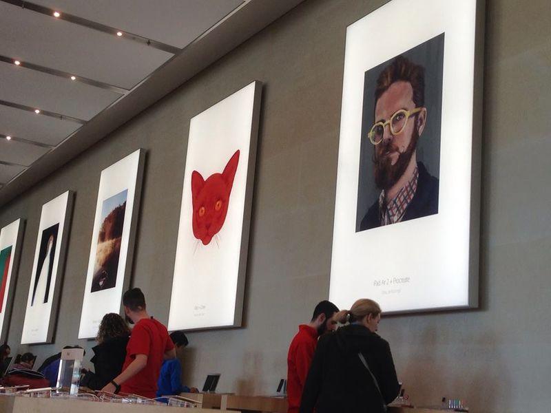 Barcelona Apple store