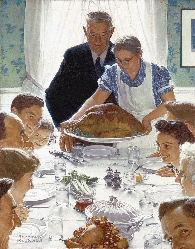Rockwell Thaanksgiving
