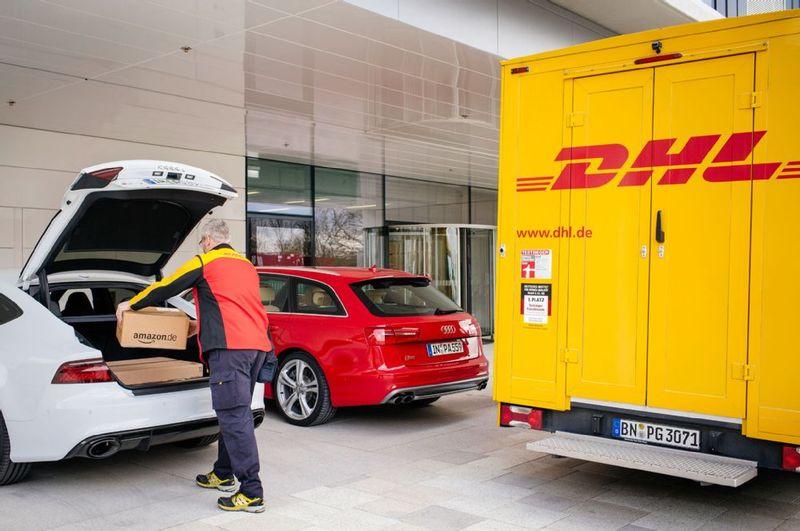 Amazon DHL Audi