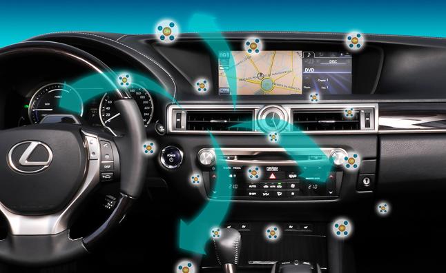 Auto cooling lexus air conditing