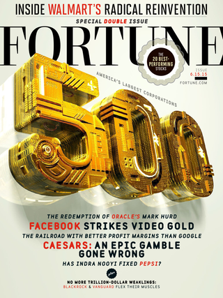 Fortune 500 cover