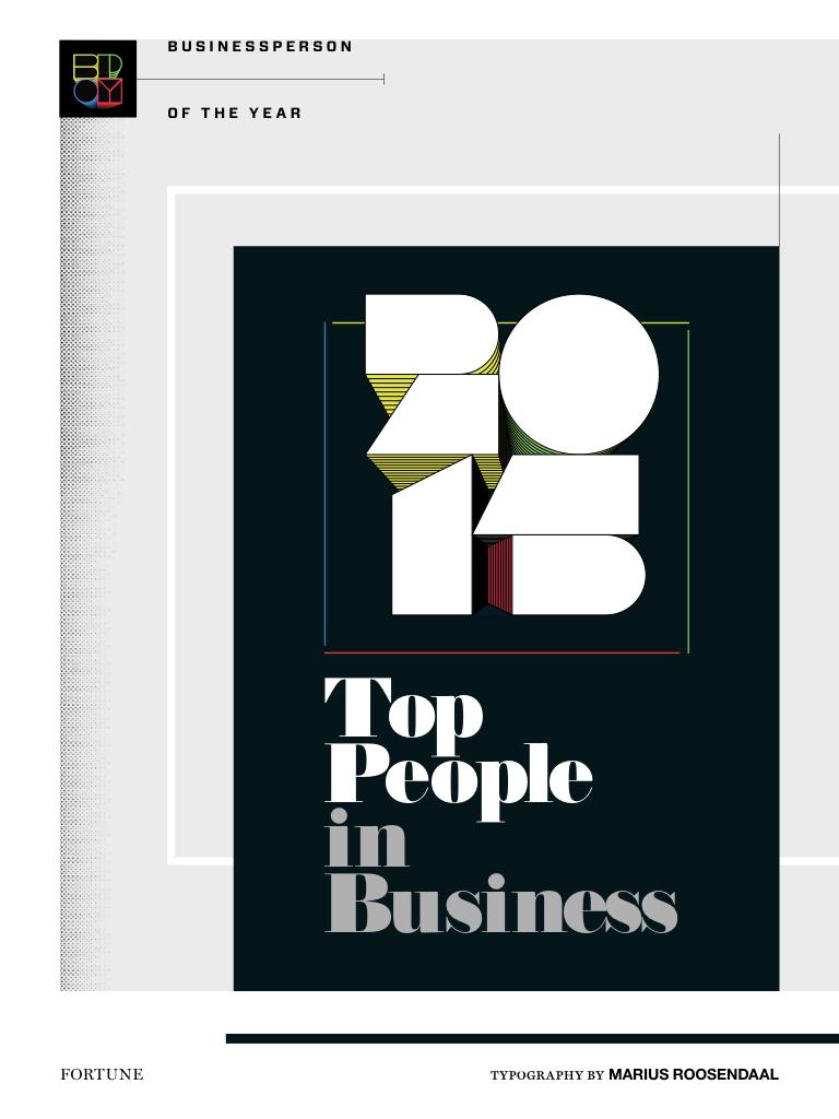 Fortune 2015 Businessperson