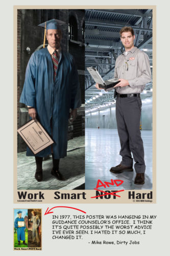 Mike Rowe poster