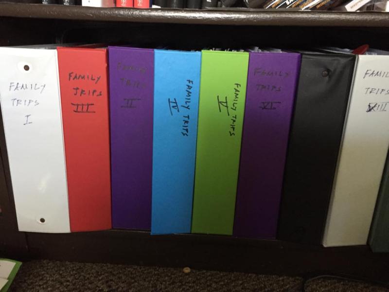 Trip file folders