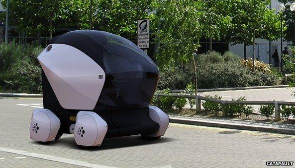 UK driverless