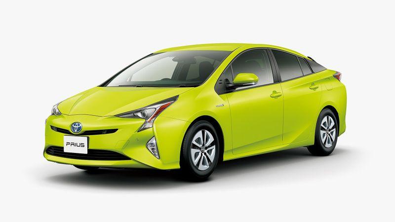 Toyota Prius Lemon Lime
