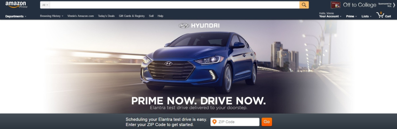 Amazon Hyundai