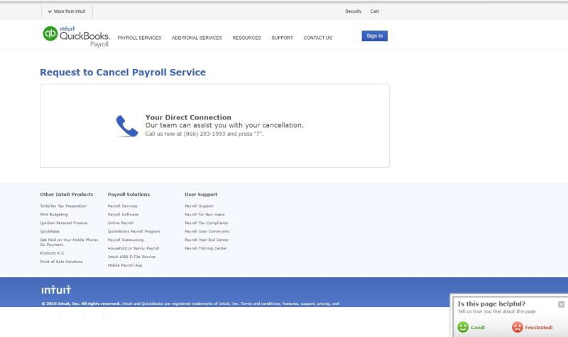 Intuit customer service