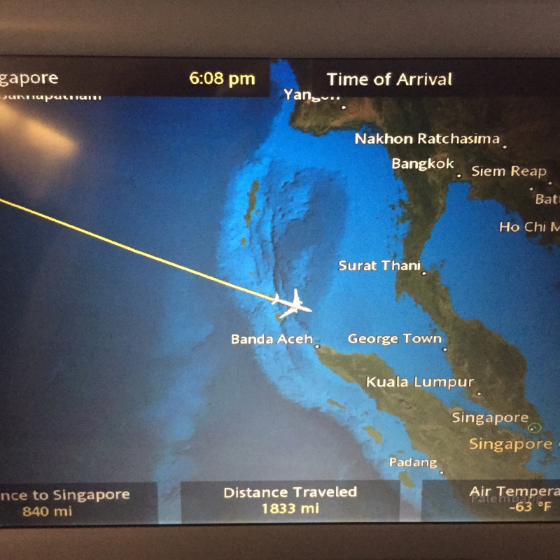 Singapore air nav