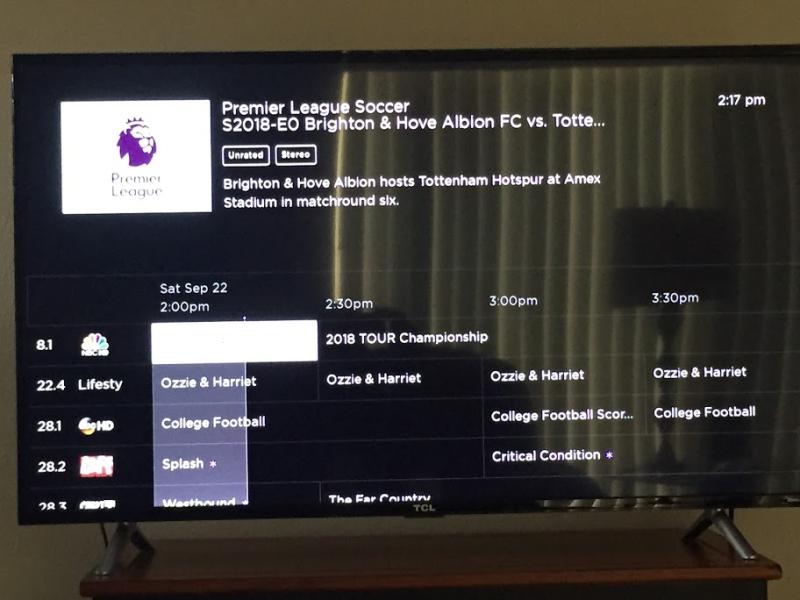 Terk TV channels