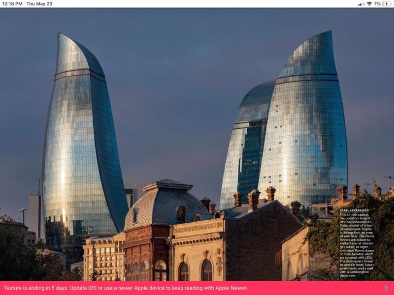 National Geo Baku