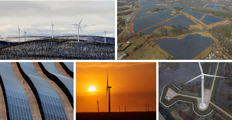 Google renewable projects
