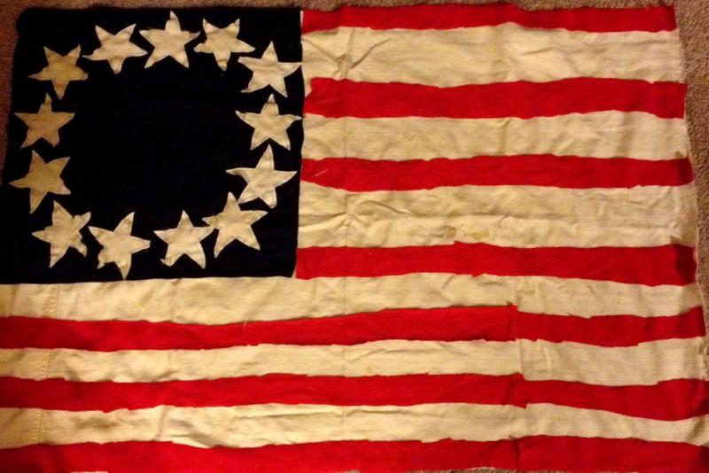 US Flag 1777
