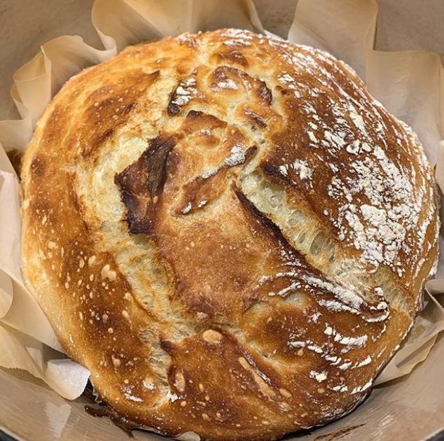 Erica crusty bread