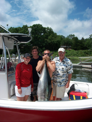 Tom Our first Tuna
