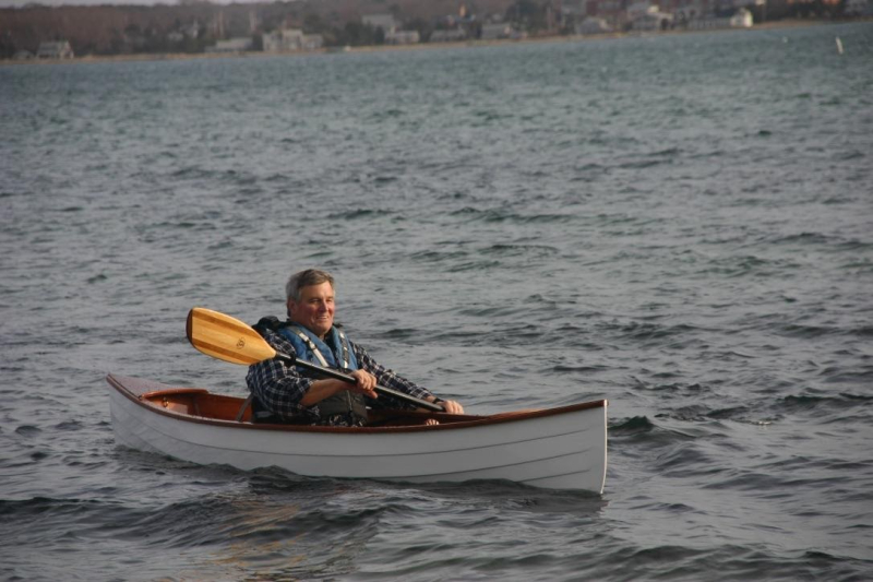Jim in boat